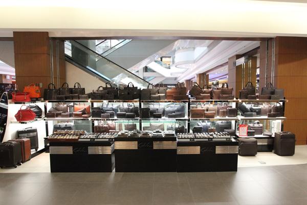 男士 皮具/沙驰皮具沙驰皮具位于松雷南岗店2楼。
